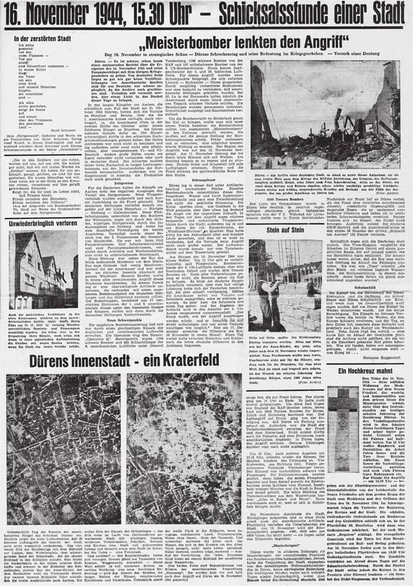 Düren Kultur: Zeitungsberichte